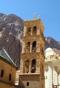 Katharinenkloster Sinai - Minarett neben Kirchturm